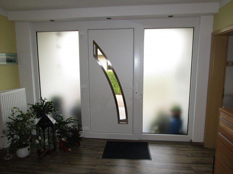 Haustür innen  Haustür, Nebeneingangstür, Terrassentür, Fenster und Innentüren in ...