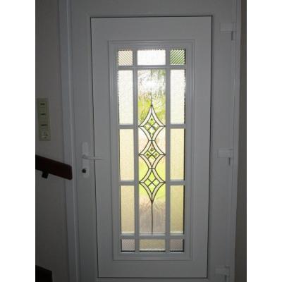 neue Haustür von innen